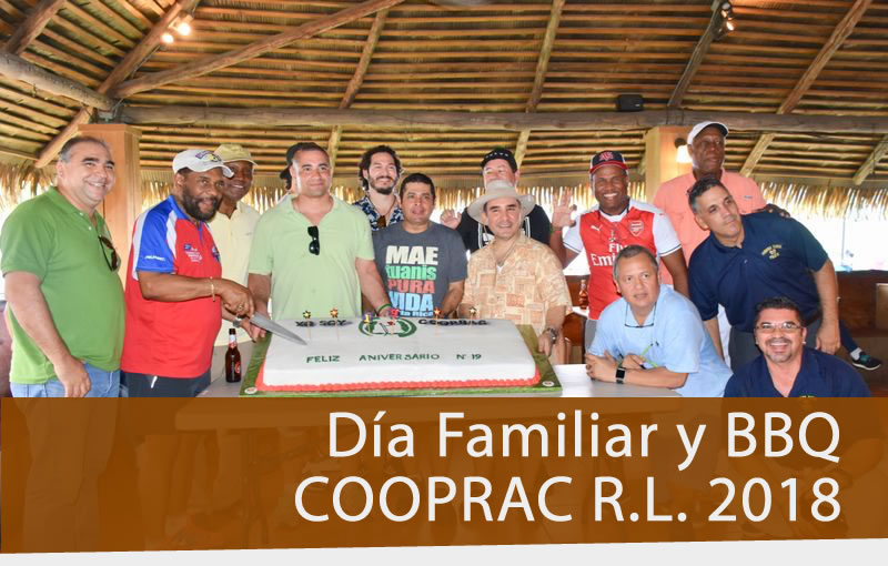 Día Familiar y BBQ COOPRAC 2018
