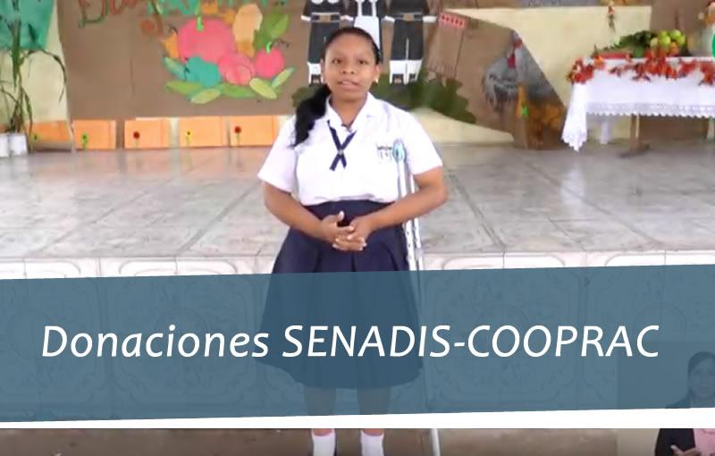 Donaciones SENADIS-COOPRAC