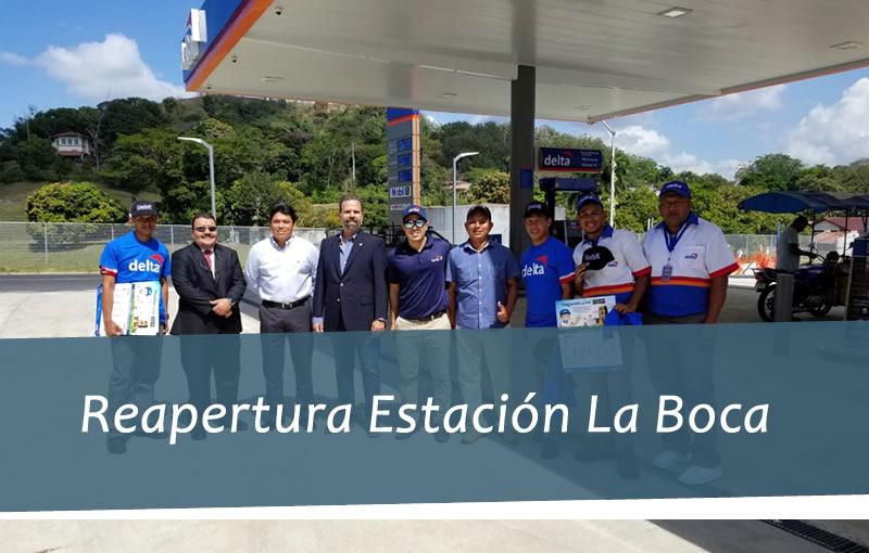 Reapertura de la Estación de Combustible La Boca