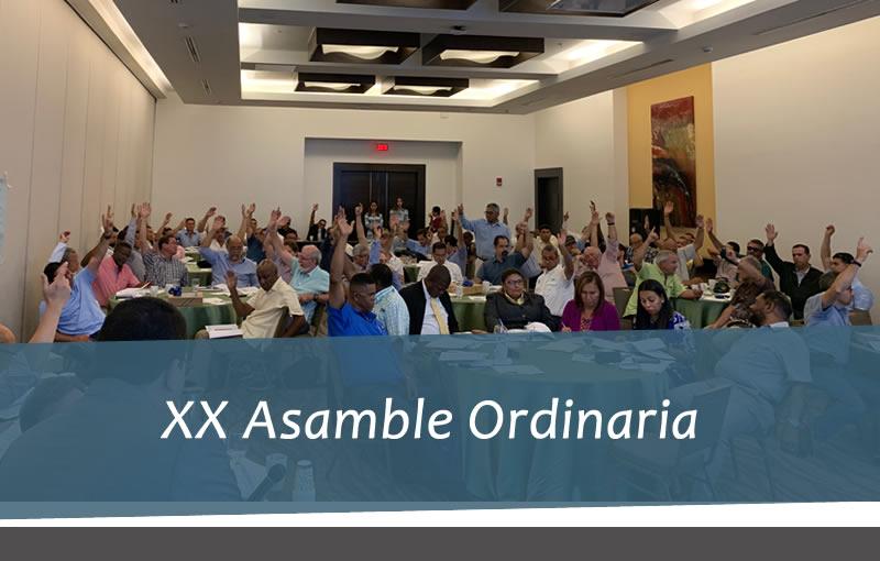 XX Asamblea Ordinaria – 2019